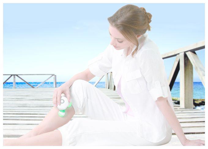 MG 16 Mini-Massagegerät LED-Licht Massage-to-go Vibrationsmassage