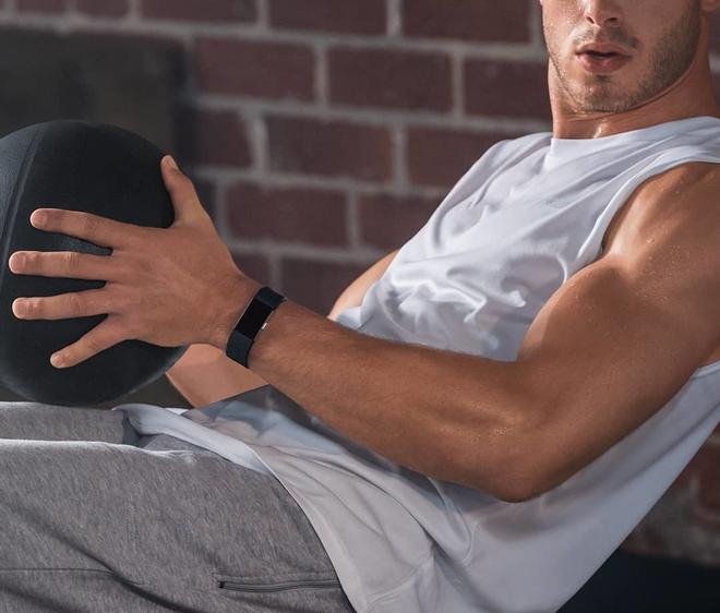Charge 2 large Fitness-Tracker Touch-Display Herzfrequenz-Messung