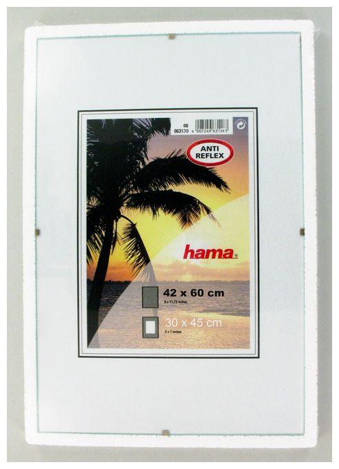 """00063139 Rahmenloser Bilderrahmen """"Clip-Fix"""" Anti-Reflex-Glas 42x60cm"""