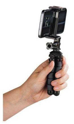 """00178366 flexibles Ministativ """"Flex"""" für Smartphone u. GoPro 5,5-7,8cm"""