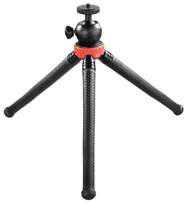 """00004608 Stativ """"FlexPro"""" für Smartphone, GoPro und Fotokameras 27cm"""