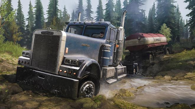 MudRunner American Wilds Edition (PlayStation 4)