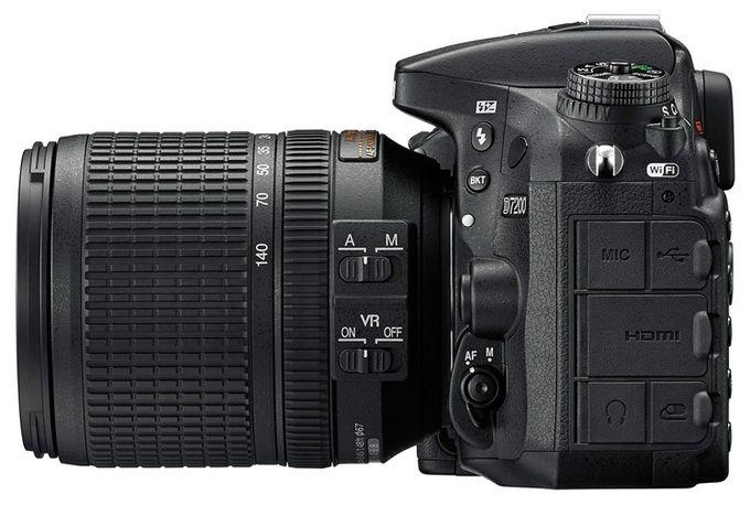 D7200 Spiegelreflexkamera 8cm/3,2'' 24,2MP + AF-S DX 18-140mm VR