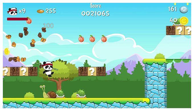 Panda Hero Remastered (PlayStation 5)