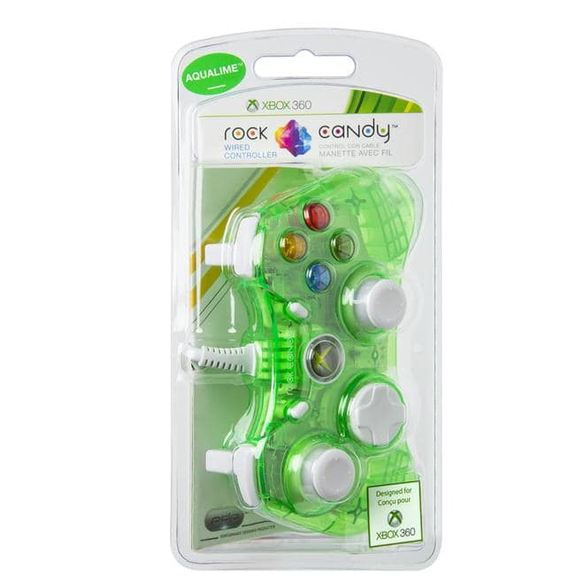 Xbox 360 Controller Rock Candy Headset/Communicator-Port