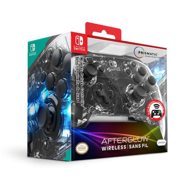 Afterglow Wireless Deluxe Controller Gamepad Nintendo Switch kabellos