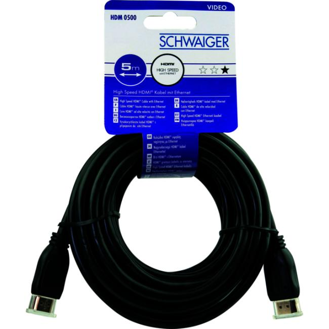 HDM0500 043 High-Speed-HDMI™-Kabel mit Ethernet 5m