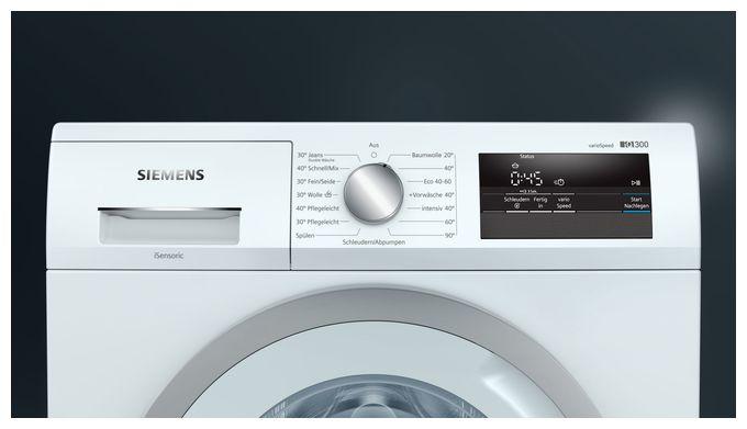 iQ300 WM14N092 7 kg Waschmaschine 1400 U/min EEK: D Frontlader aquaStop