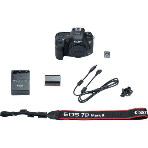 EOS 7D Mark II Spiegelreflexkamera 20,2MP Full-HD + WI-FI Adapter W-E1