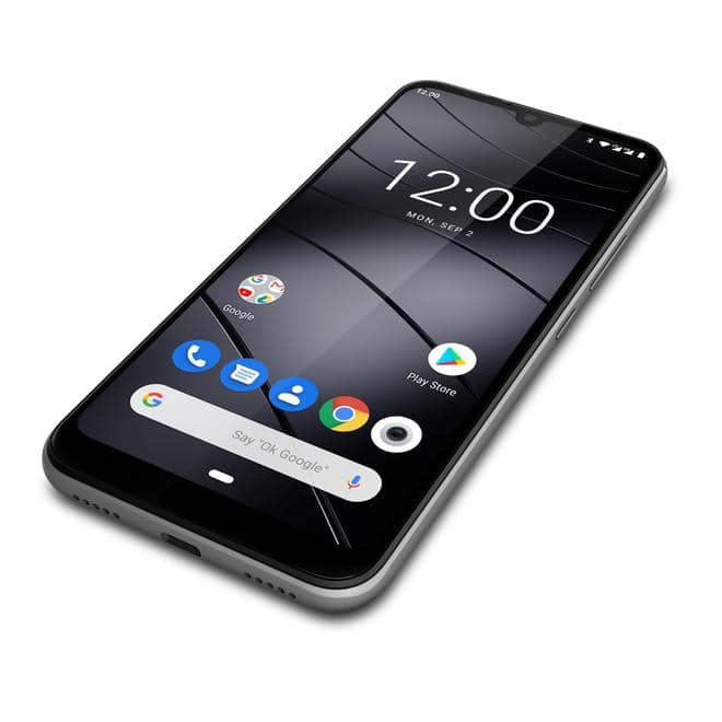 "GS190 Smartphone 15,5cm/6,1"" Android 9.0 13MP 16GB Dual-SIM Grau"
