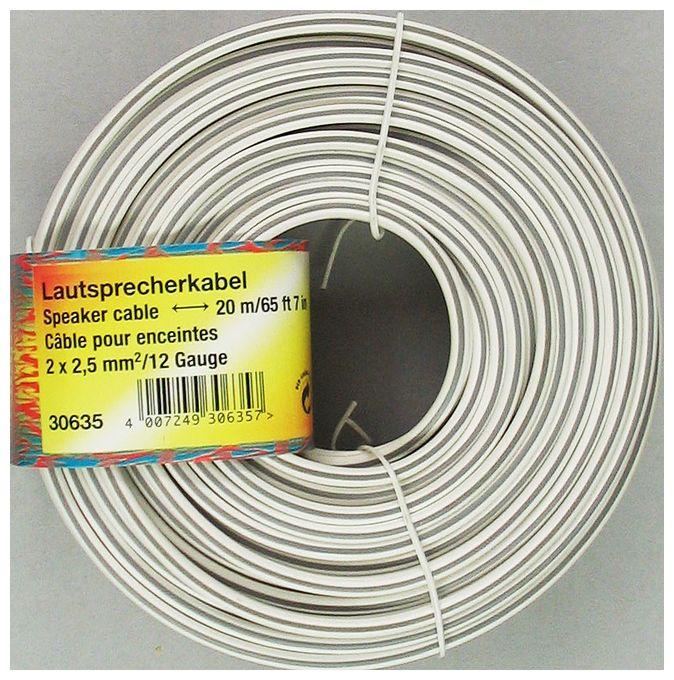 00030635 Lautsprecherkabel 2x 2,5 mm² 20 m