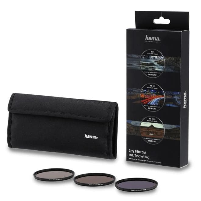 76901 Graufilter-Set ND8, ND64, ND1000, 67mm Schwarz