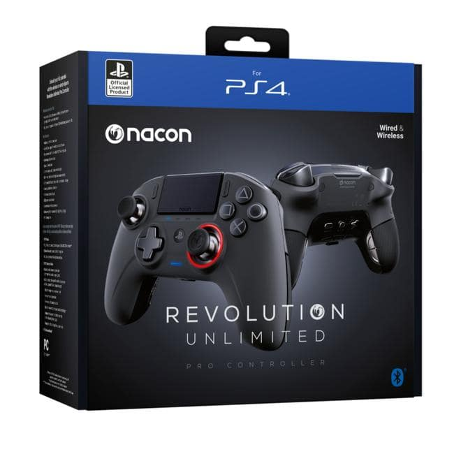 Revolution Unlimited Pro Analog / Digital Gamepad PC, PlayStation 4 kabelgebunden&kabellos
