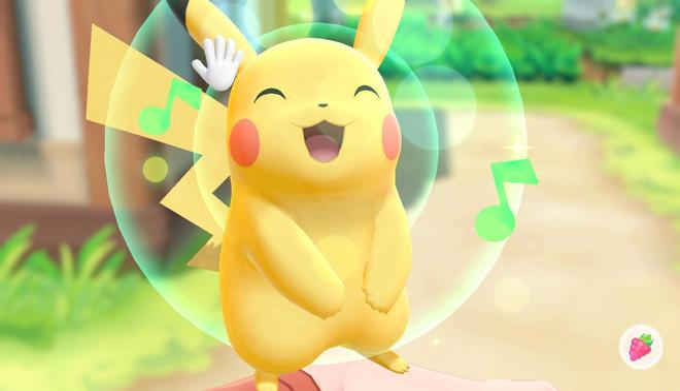 Pokémon: Let's Go, Evoli! (Nintendo Switch)