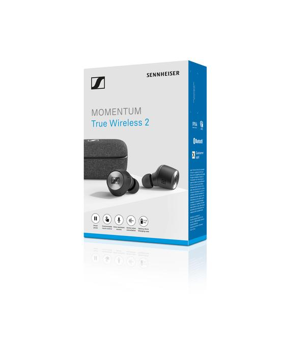 MOMENTUM True Wireless 2 Earbuds - Black
