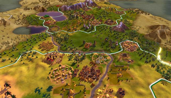 Sid Meier's Civilization VI (PlayStation 4)