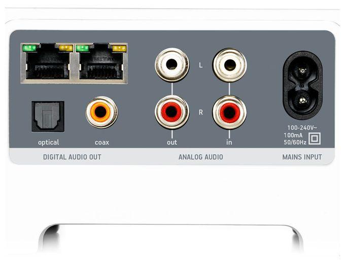 Connect Musikstreaming über WLAN für herkömmliches Audio-Equipment
