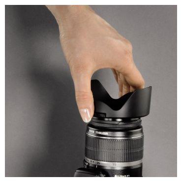 """00093658 Gegenlichtblende """"Snap"""" Objektivdeckel, Weitwinkel-Objektive 58 mm"""