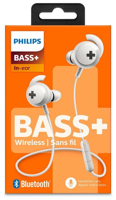 SHB4305WT/00 Bluetooth4.1-In-Ear-Kopfhörer Geräuschisolation Weiß