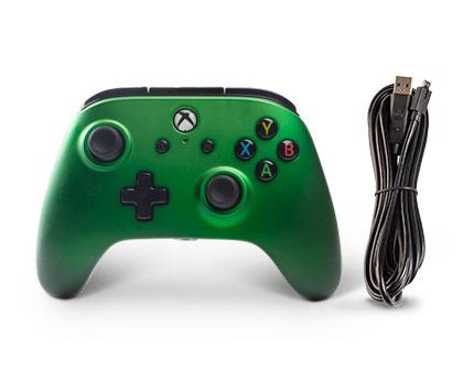 Xbox One und Windows 10 Wired Controller emerald fade