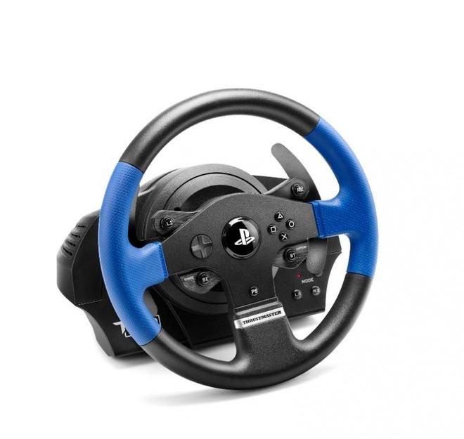 T150 Force Feedback Lenkrad + Pedale PC, PlayStation 4, Playstation 3 kabelgebunden