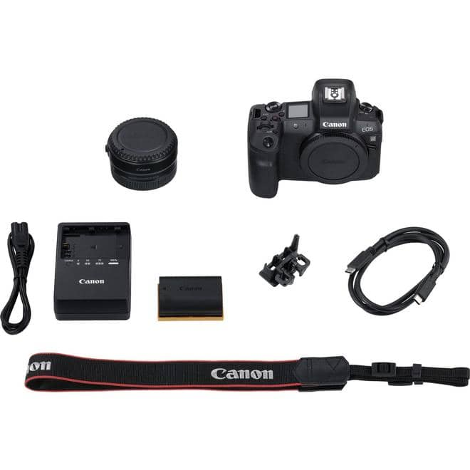 EOS R Systemkamera 8cm/3,2'' 30,3MP 4k WLAN Bluetooth + Adapter EF-EOS R