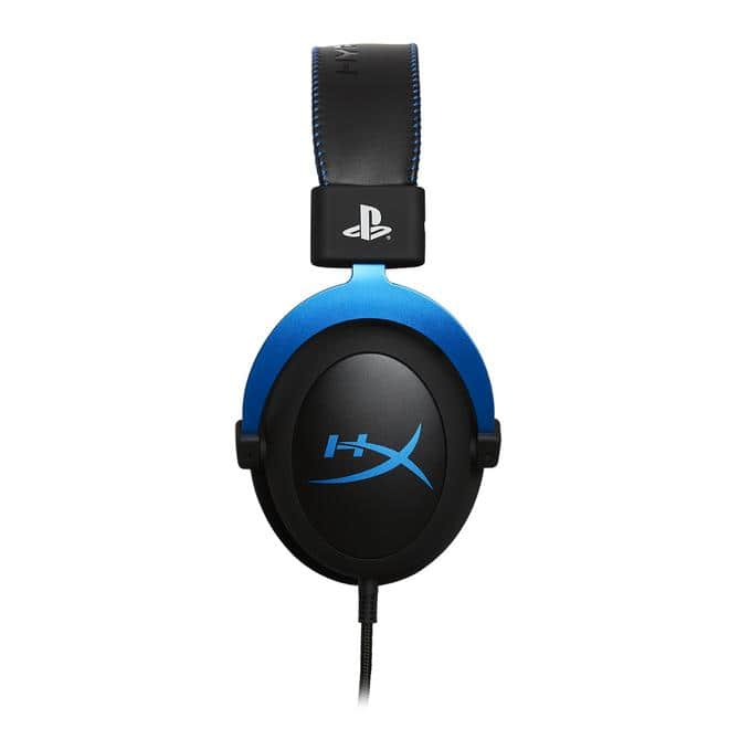 Cloud Gaming-Headset Schwarz, Blau