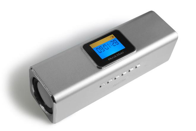MusicMan MA Display mobiler Lautsprecher/Soundstation mit Display