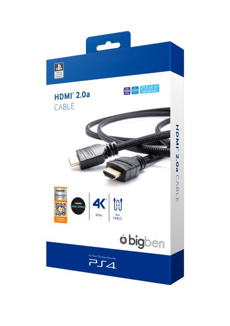 PS4OFHDMI2.0 HDMI-Kabel 3m 4K Ultra HD 60Hz