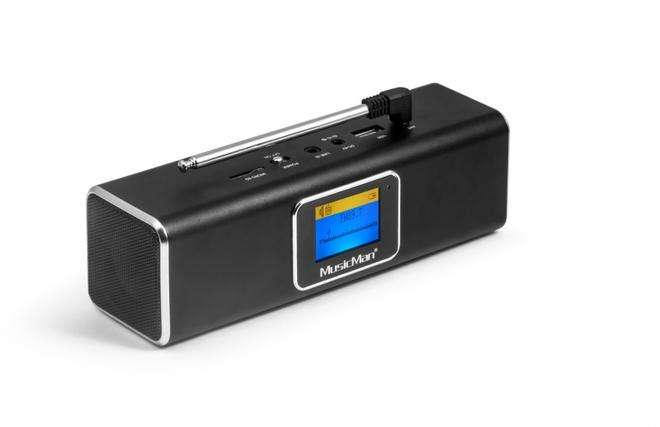 MusicMan BT-X29 DAB Bluetooth Soundstation AUX-IN USB MicroSD-Slot