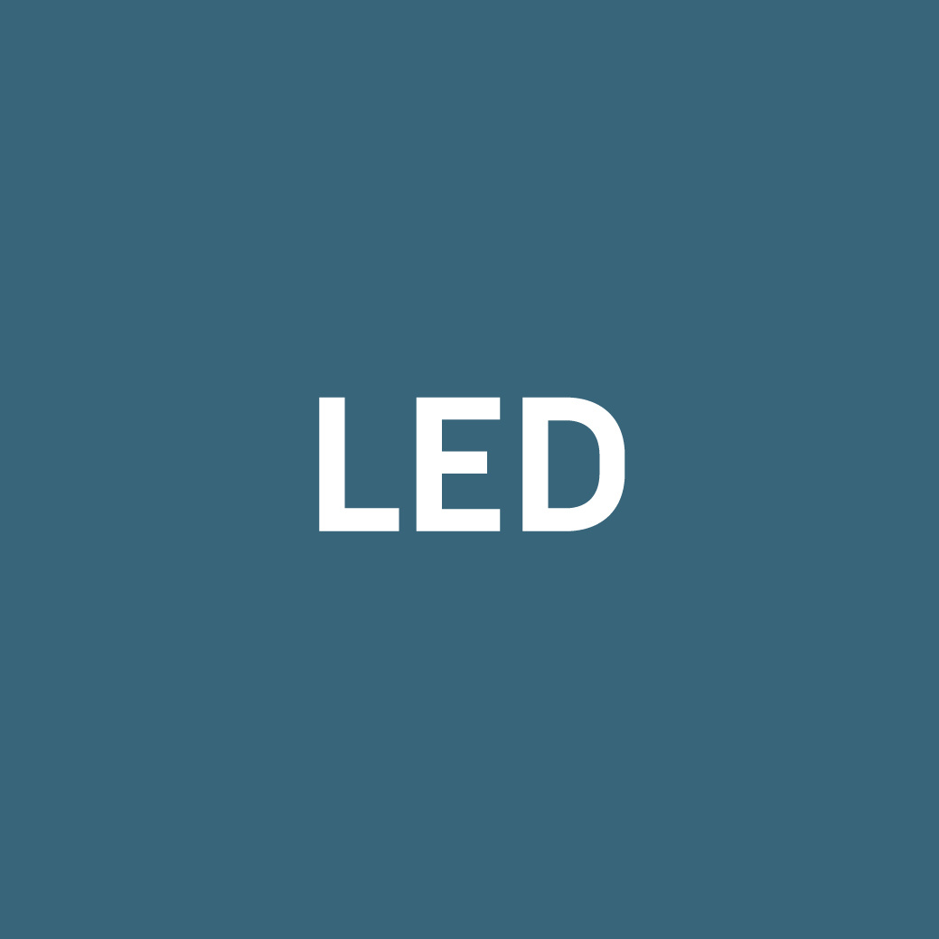 LED-Seitenbeleuchtung einseitig