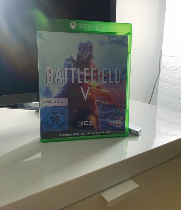 Battlefield V Verpackung