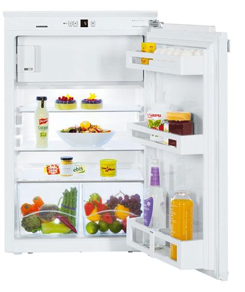 Integriertes Gefrierfach bei einem Einbaukühlschrank