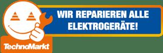 Wir reparieren alle Elektrogeräte