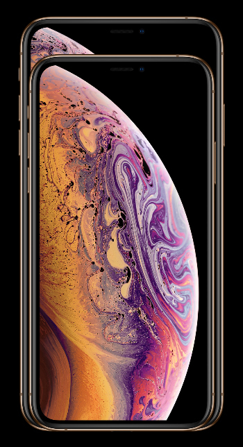 iPhone Xs und iPhone Xs Max Front