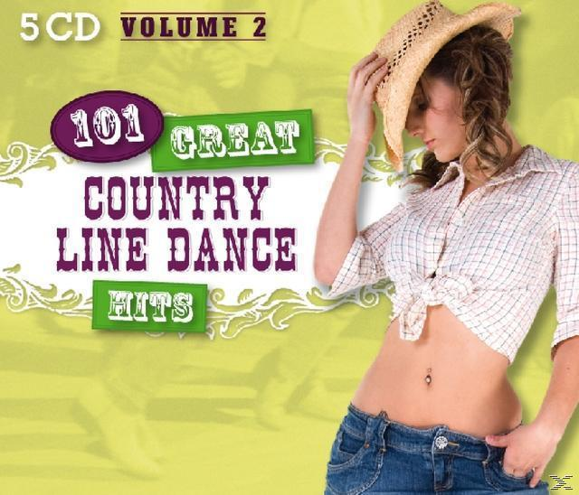 101 Great Country Line Dance Hits Vol. 2 (VARIOUS) für 11,49 Euro