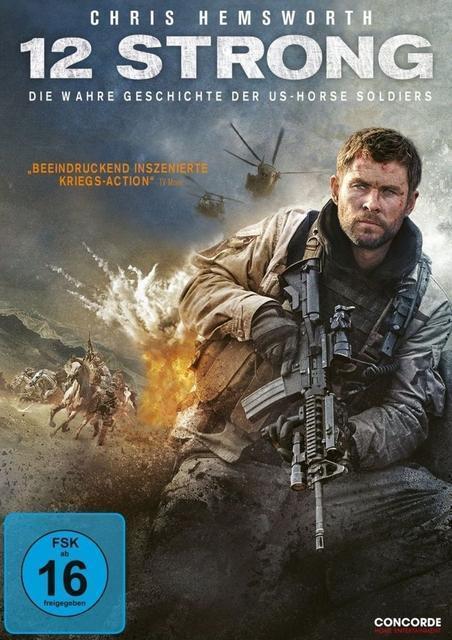 12 Strong - Die wahre geschichte der US-Horse Soldiers (DVD) für 13,99 Euro