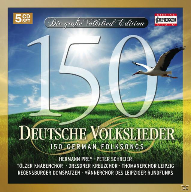 150 Deutsche Volkslieder (VARIOUS) für 16,99 Euro