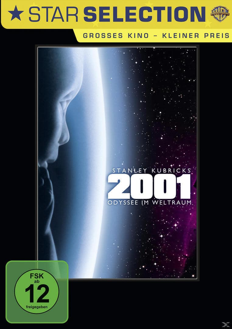 2001: Odyssee im Weltraum Star Selection (DVD) für 9,99 Euro