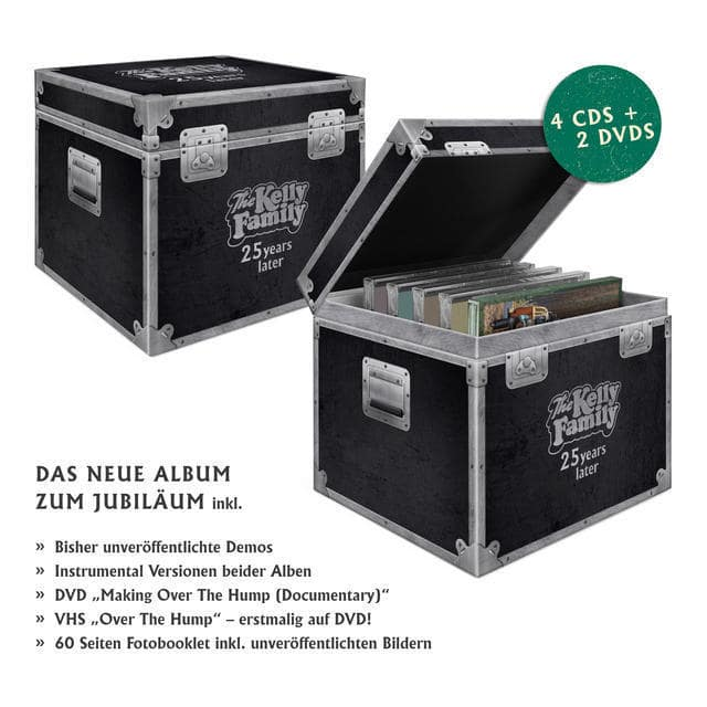 25 Years Later (Ltd.Over The Hump Fanbox) (The Kelly Family) für 53,49 Euro