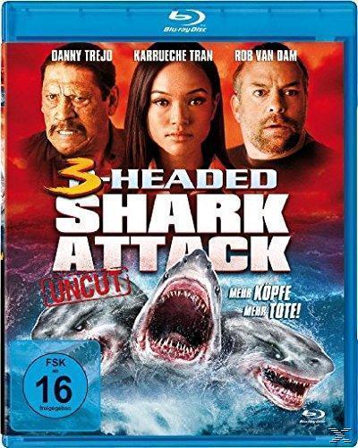 3-Headed Shark Attack - Mehr Köpfe = mehr Tote! (BLU-RAY) für 9,99 Euro