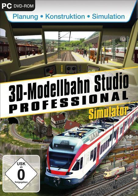 3D Modellbahnstudio Professional (PC) für 19,00 Euro