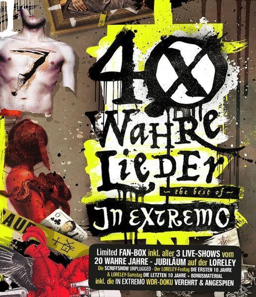 40 Wahre Lieder-LTD Loreley-Fanbox (2CD/2bd) (In Extremo) für 46,99 Euro