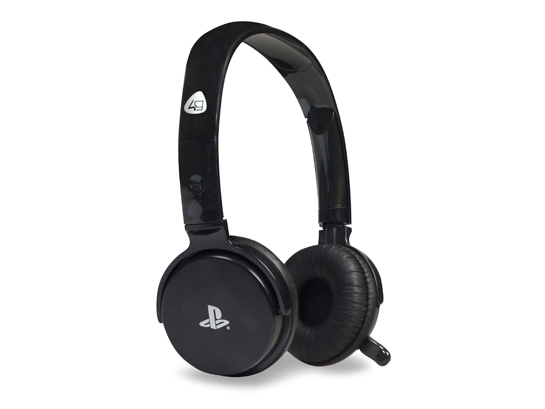 4Gamers CP-01 PS3 Comm-Play Stereo Gaming Headset für 29,99 Euro