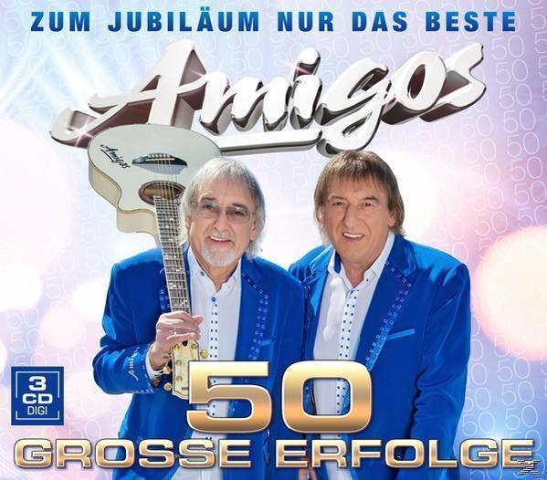 50 große Erfolge-Zum Jubiläum nur das Beste (Die Amigos) für 17,99 Euro