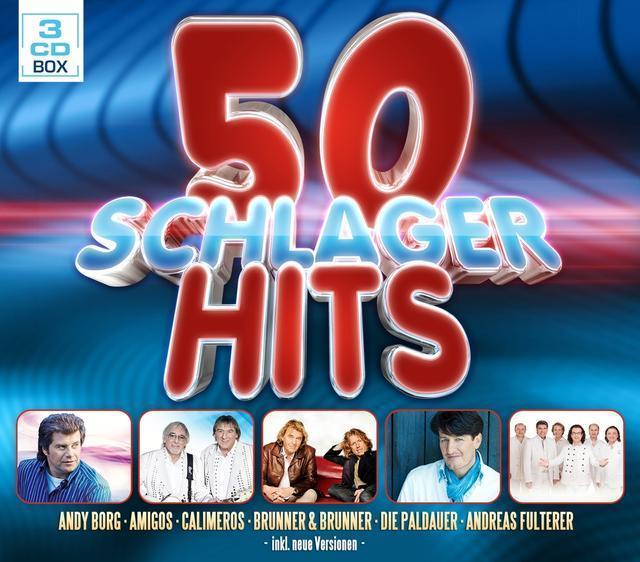 50 Schlager Hits (VARIOUS) für 8,99 Euro