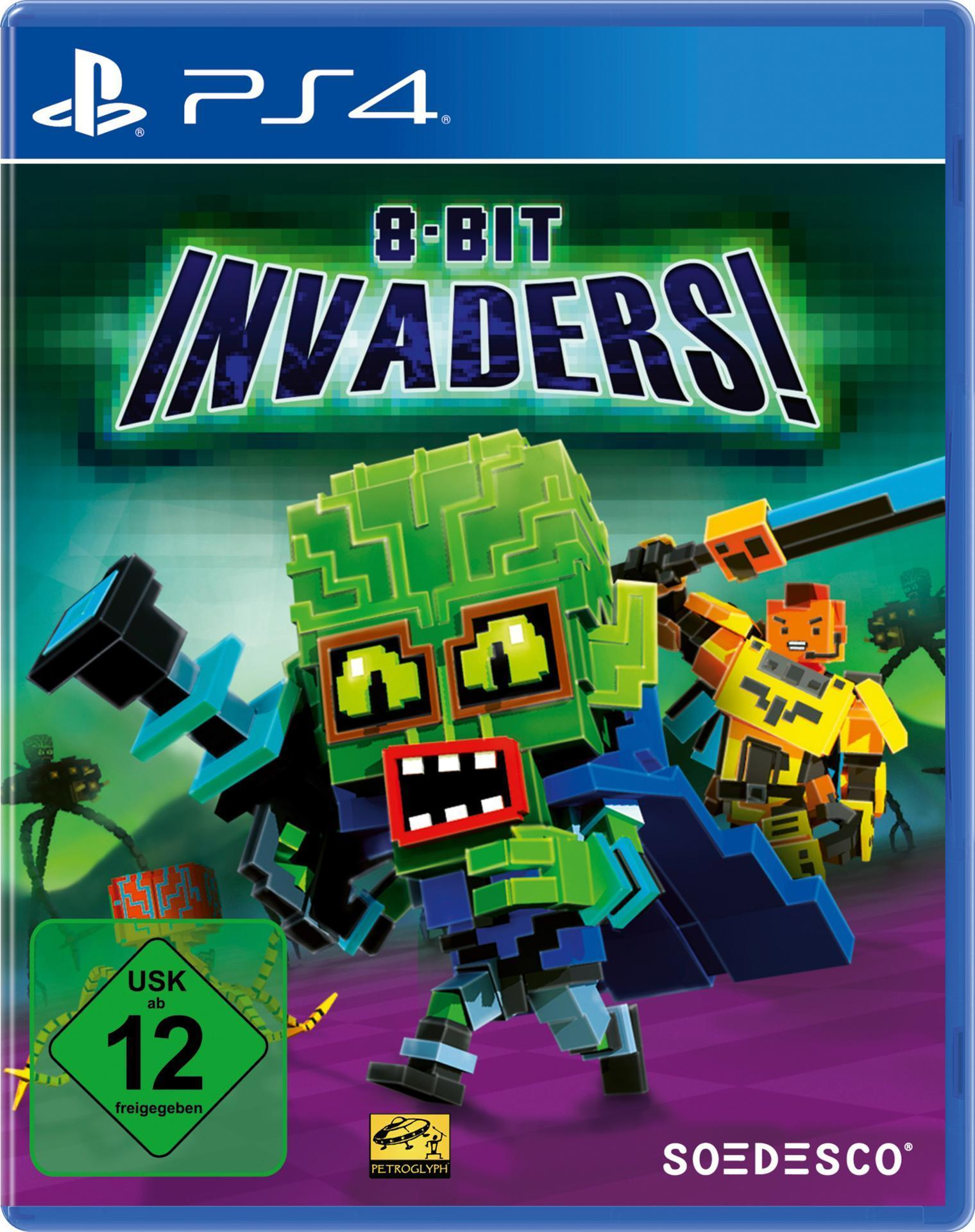 8-Bit Invaders (PlayStation 4) für 29,99 Euro