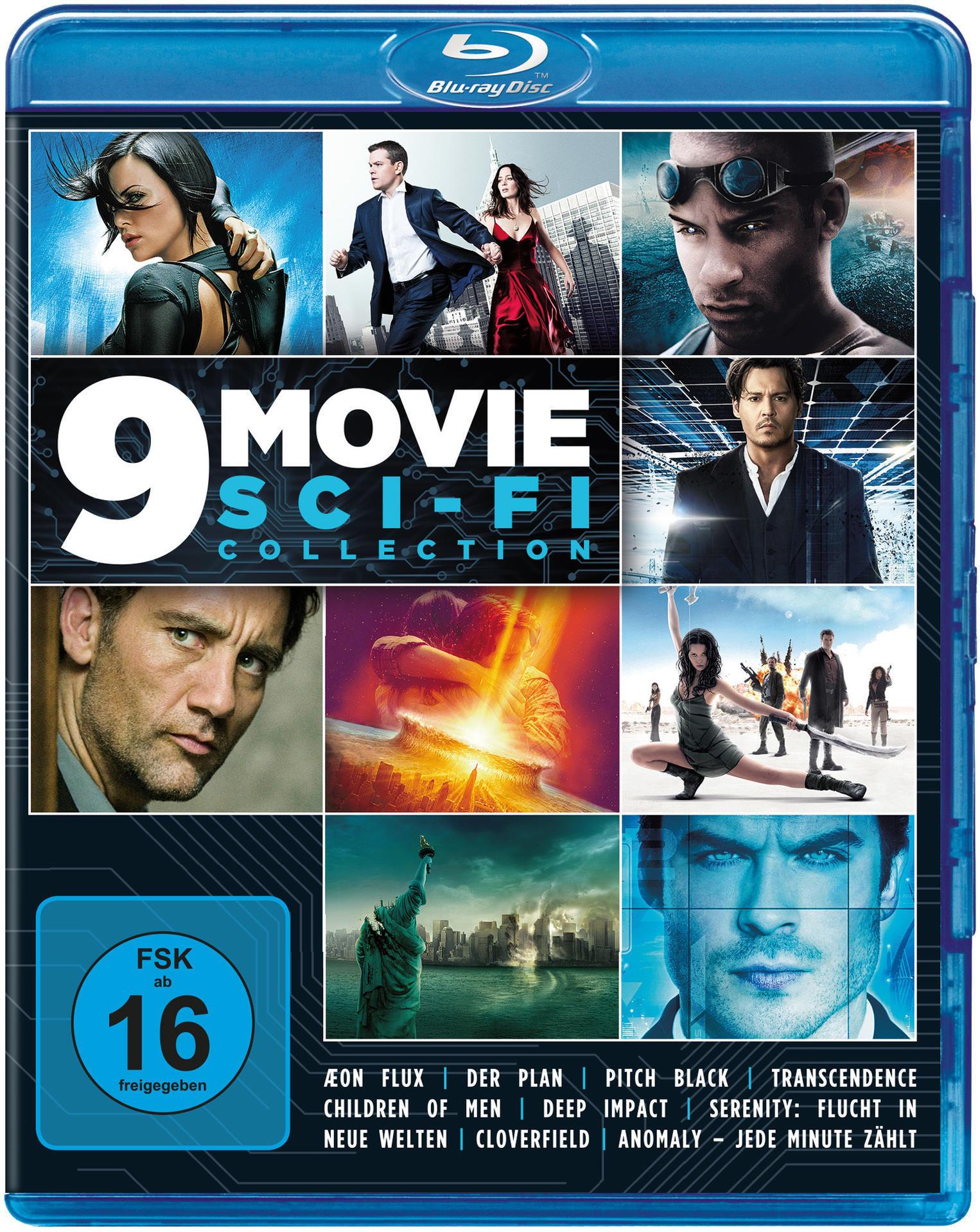 9 Movie Sci-Fi Collection BLU-RAY Box (BLU-RAY) für 19,99 Euro