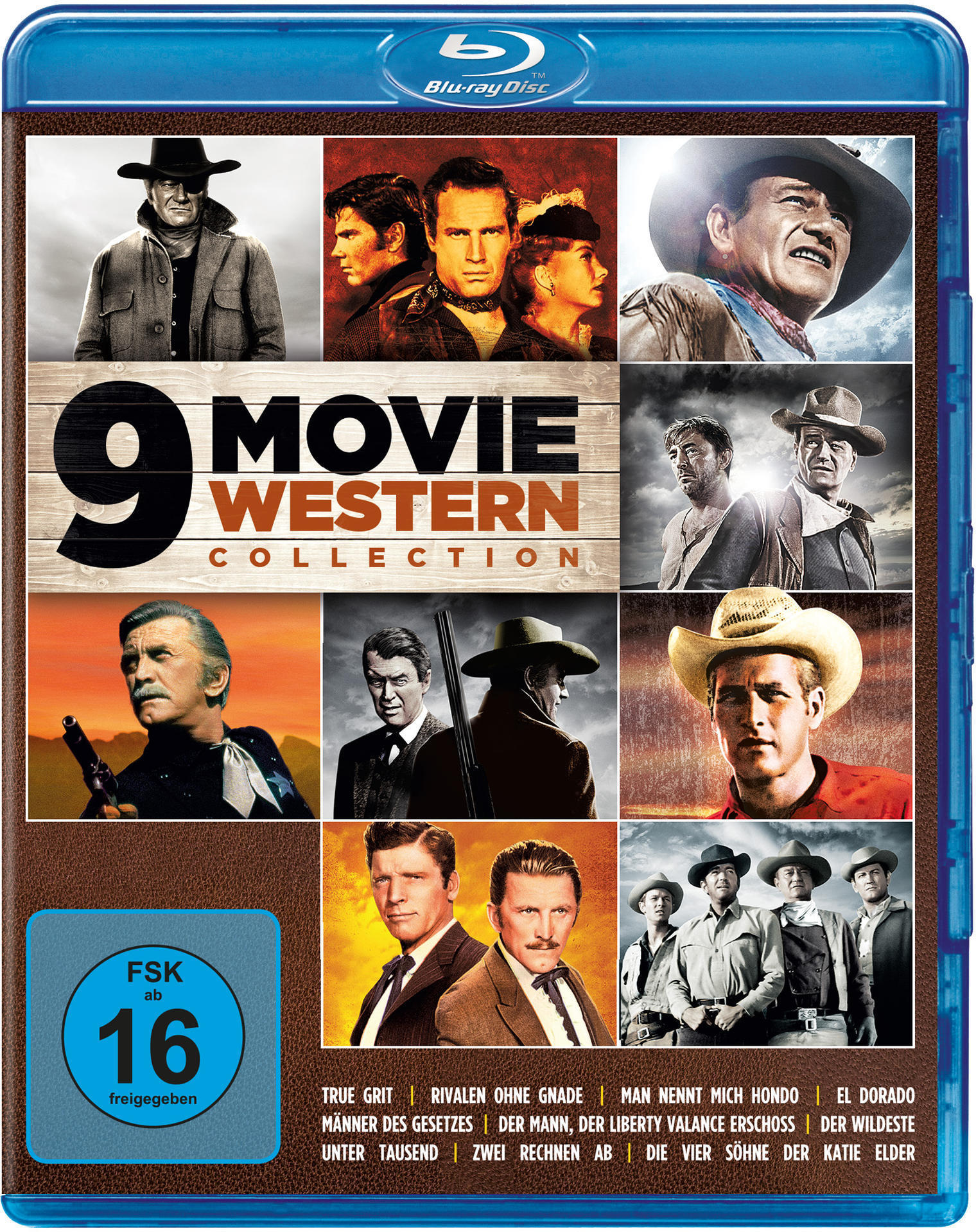 9 Movie Western Collection - Vol. 1 BLU-RAY Box (BLU-RAY) für 19,99 Euro