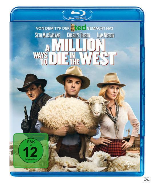 A Million Ways to Die in the West (BLU-RAY) für 13,64 Euro